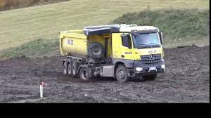 Trucks In Snow And Mud All Wheel Drive Heavy Machines - YouTube