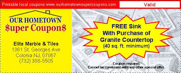 coupons for elite marble tiles 1361saint georges ave colonia nj