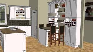Wood Countertops Hampton Bay Kitchen Cabinets Lighting Flooring Sink Faucet Island Backsplash Pattern Tile Laminate Pine