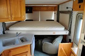 Camperinteriorlayout 1999 Safari Trek Rv Interior With Bed
