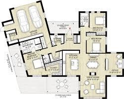 100 Modern Architecture Plans Style House Plan 3 Beds 25 Baths 2116 SqFt Plan 9244
