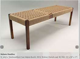 Melanie Hamilton from Center for Furniture Craftsmanship class