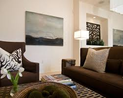 charming dark brown couch living room ideas about home interior