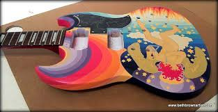 In The Book Classic Guitars Of 60s Was Taken Before Or After Guitar Refinished I Dont Know How Paint Job May Have Changed