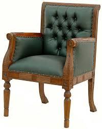 fauteuil de bureau vert fauteuil de bureau en acajou chesterfield vert meubles de style