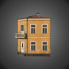 Neoclassical House Neoclassical House 3d Model 25 Unknown Obj Fbx Dae