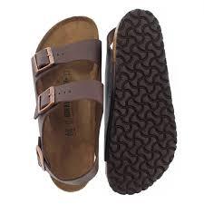 birkenstock men u0027s milano cord footbed 3 strap sandal ebay