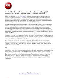 100 Commercial Truck Gps New WorldNav GPS Communicator Models Released Offering High