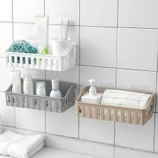 badezimmer küche regal saugnapf rack organizer aufbewahrung