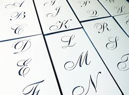 Free Cut Out Alphabet Stencils Embossing Stencil Calligraphy