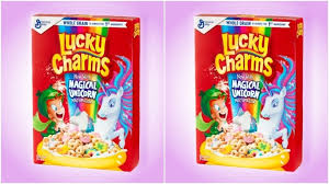 Lucky Charms Unicorn Shaped Cereal Pieces Will Replace The Iconic Hourglass Marshmallow Shapes Pic