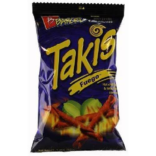 Barcel Takis Fuego Chips - 2oz, Hot