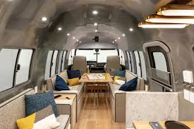 100 Airstream Trailer Interior Renovated Is Like A Chic Apartment On Wheels Curbed