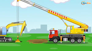 The Yellow Excavator - Diggers Cartoon For Children - Construction ... Hot Wheels Monster Jam Grave Digger Vehicle Shop Dennis Anderson Recovering After Scary Crash In The The Yellow Excavator Diggers Cartoon For Children Cstruction My First Trucks And Lets Get Driving Board Book Crazy Truck Childrens Car Wash Game Kids Story Behind Everybodys Heard Of Video Toy Truck Videos Axials Smt10 Rc Newb Derricks Commercial Equipment Working Videos 4x4 D115 Derrick Elliott