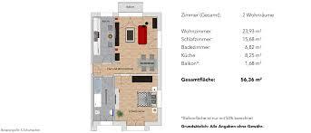 2 zimmer wohnung im 1 obergeschoss residenz118