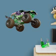 100 Monster Truck Wall Decals Grave Digger XL Officially Licensed Jam Removable