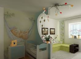 cloison chambre salon design interieur idee separation chambre bebe deco murale