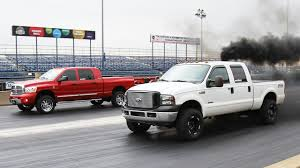Epic Diesel Truck Drag Racing Is The Best Thing You'll See This Week