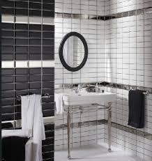 carrelage salle de bain metro salle de bain noir et blanc c est la tendance déco deco cool