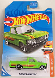 Amazon.com: Hot Wheels 2019 Hw Hot Trucks 9/10 - Custom '72 Chevy ...