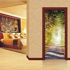 muster tür aufkleber wandbild applique für zuhause