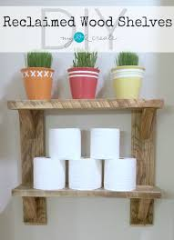 Wood Shelves Diy by Easy To Build Wood Shelves My Love 2 Create
