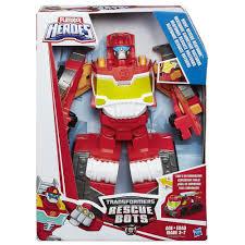 Playskool Heroes Transformers Rescue Bots Night Rescue Heatwave ...