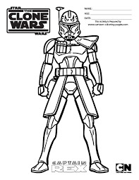Star Wars Clone Coloring Pages