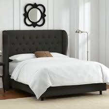 Roma Tufted Wingback Bed King by Tufted Wingback Headboard King 62 Inspiring Style For The Roma