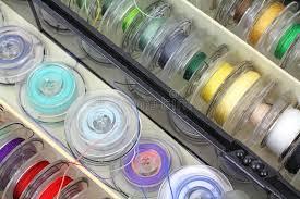 Sewing Supply Bobbins Close View Royalty Free Stock Image Image