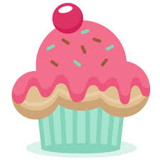 Easter Cupcake Cliparts