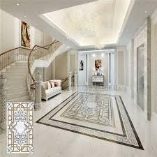 inlay medallion flower porcelain tile flooring designs buy