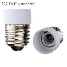 aliexpress buy 2pcs lot e27 to e14 light l holder