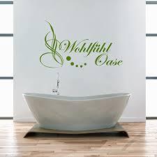 wt914a wandtattoo wohlfuehl oase badezimmer bad wc aufkleber