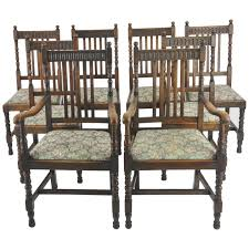Antique Dining Chairs, 8 High Back Chairs, Oak, France, 1900 GREATLY ... Tiger Oak Fniture Antique 1900 S Tiger Oak Round Pedestal With Ding Chairs French Gothic Set 6 Wood Leather 4 Victorian Pressed Spindle Back Circa Room 1900s For Sale At Pamono Antique Ding Chairs Of Eight Chippendale Style Mahogany 10 Arts Crafts Seats C1900 Glagow Antiques Atlas Edwardian Queen Anne Revival Table 8 Early Sets 001940s Extendable With Ball Claw Feet Idenfication Guide