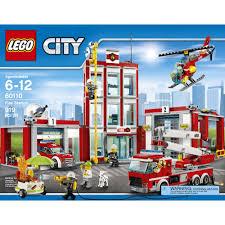 LEGO City Fire Fire Station, 60110 - Walmart.com