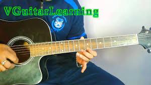 shah rukh khan kuch kuch hota hai guitar lead lesson by