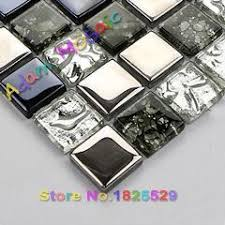 sicis glass mosaic tile interior wall material silver tiles for