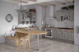 meubles cuisine design cuisine saveur gris patine blanc décoration patine