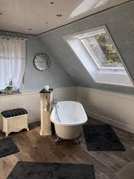 wandverkleidung im badezimmer beadboard de wandpaneele