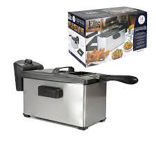 elite cuisine llc amazon com elite cuisine edf 3507 maxi matic 3 5 quart immersion