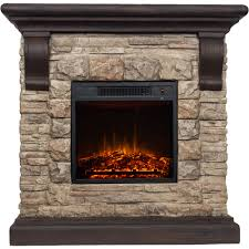 Decor Flame Electric 1500W Fireplace with 41