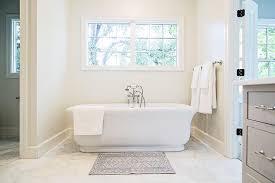 large white marble hexagon bathroom floor tiles transitional