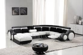 canape cuir design contemporain canapé d angle panoramique en cuir avec reposepied intégré relax 1