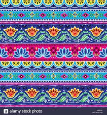 100 Truck Art Pakistani Truck Art Vector Seamless Pattern Indian Truck Floral