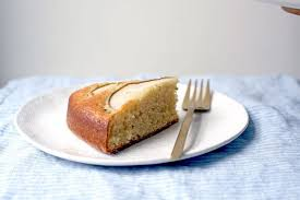 Sour Cream Cardamom Pear Cake Recipe on Food52