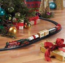 Image Is Loading Train Set For Christmas Tree Adult Children Electric