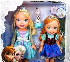 Frozen Parody Baby Princess Anna Meets Toddler Kristoff Elsa Doll