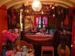 Gypsy Home Decor Pinterest by Gypsy Caravan Beautiful Lights Home Decor Flowers Stars Hipster
