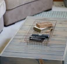 diy industrial reclaimed wood coffee table